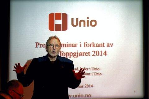 Unio-leder Anders Folkestad synes nok er nok etter 14 år.
