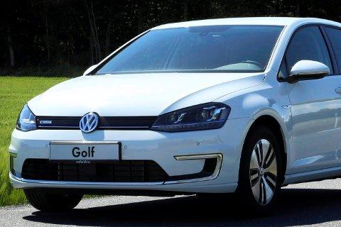 Golf elbil til salgs