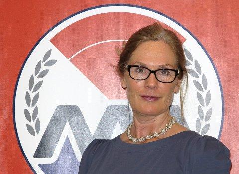 Elisabeth Fjellvang Kristoffersen i MA.