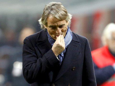 Inter Milan og Roberto Mancini får en tøff oppgave i kveld mot Juventus.