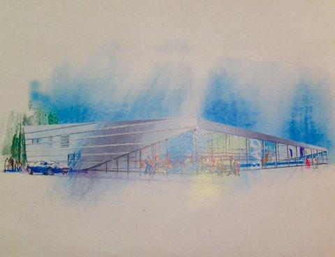 NY SVØMMEHALL: Eidsberg kommune vil kopiere svømmehallen som bygges i Bjørkelangen.