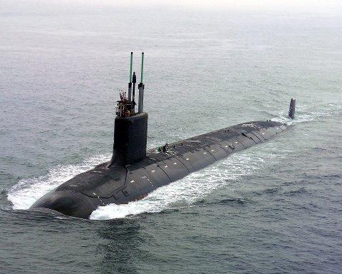 USS virginia er en av angrepsubåtene som kan komme til å bruke industrihavna på Tønsnes. Foto: General Electric