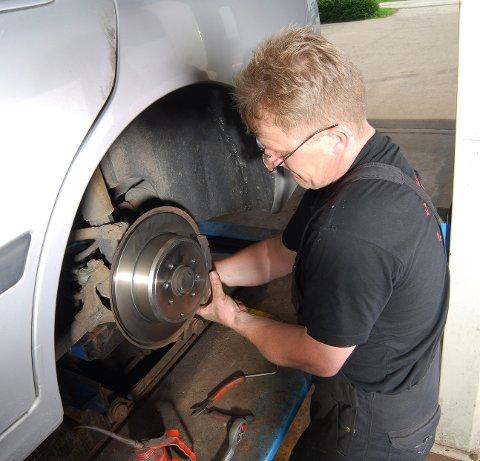 Bilens vanligste byttedeler sitter bak hjulet.