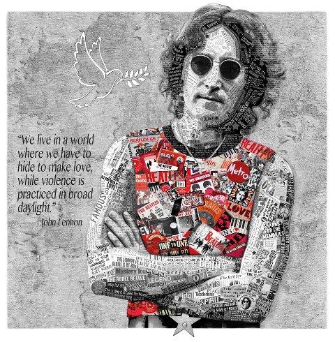 LENNON: Bildet Lennon av Liz Ravn.
