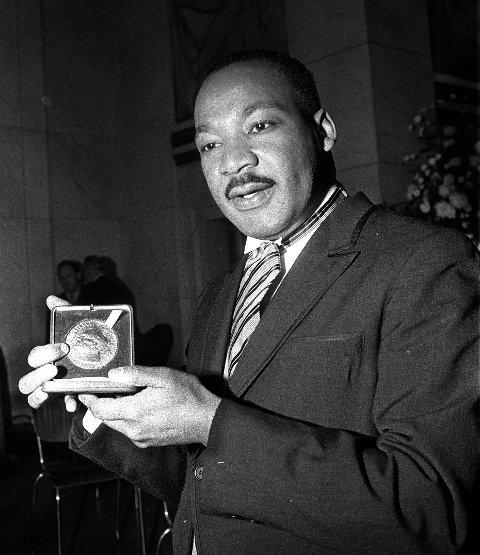 ENDRET SAMFUNNET: Martin Luther King ledet borgerrettskampen i USA på 1960-tallet og fikk Nobels Fredspris, selv om han var introvert.