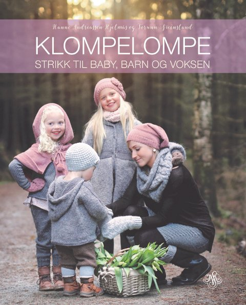 Strikkeboken «Klompelompe» er solgt til flere land.