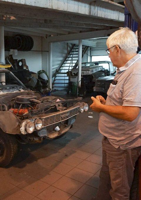 Restaureringsprosjekt: Ruuds Chevrolet Chervelle står på lista over oppussingsprosjekter.