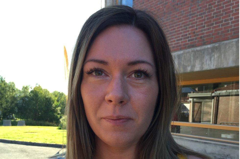 Linn Maria Svines (34) er rystet