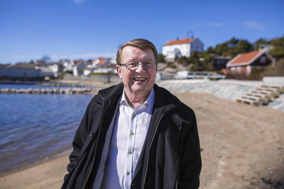 Overraskelse:  Eivind N Borge mener Hvaler kommune har gjort en grundig jobb med vann og avløp.