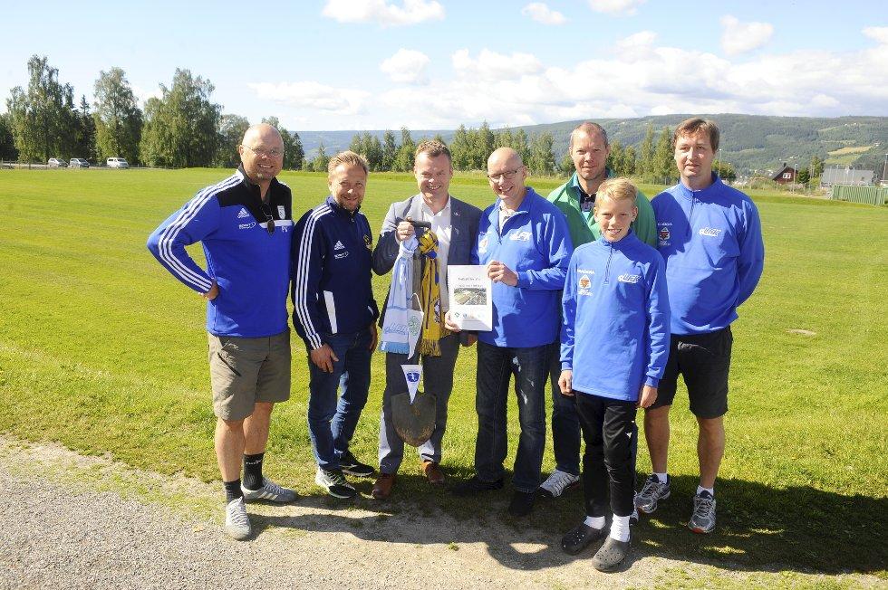 Prosjektgruppa for Fotballhall på Stampa
