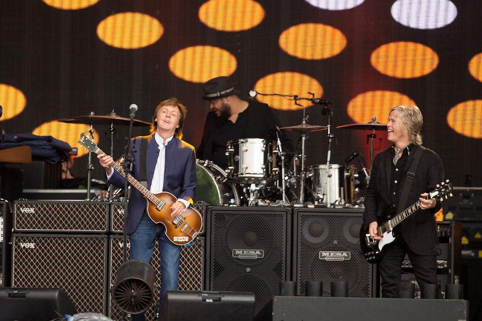 Paul McCartney på Koengen