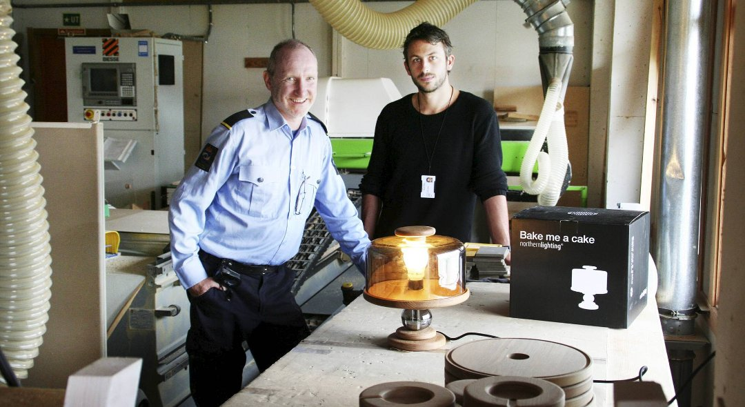 Bergensavisen   innsatte lager designlamper