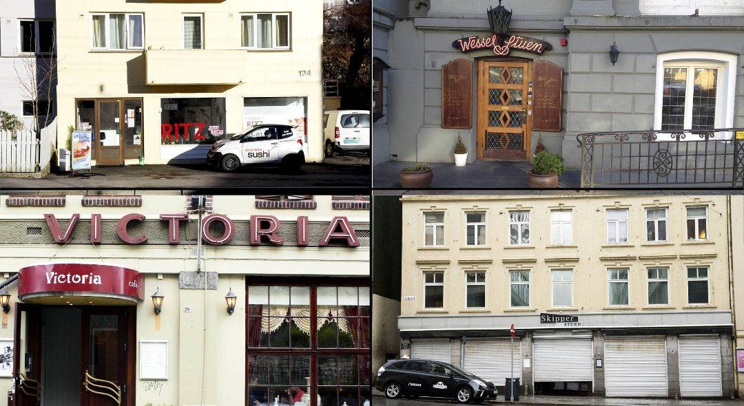 Bergensavisen   elleve restauranter stengt av mattilsynet i år