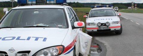 NOK Å GJØRE: Politiet har hatt nok å gjøre på årets Gatebil-festival, men har hatt en forholdsvis rolig natt.