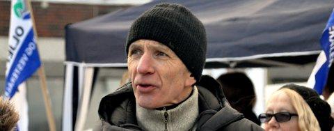 Stein Elvevold i Folkeaksjonen mot oljeboring i Lofoten, Vesterålen og Senja