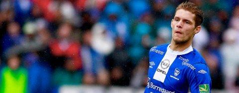 I TET: Joackim Jørgensen ligger i øyeblikket an til å bli valgt til Folkets spiller i Sarpsborg 08 av SAs lesere.