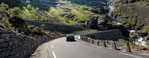 Trollstigen blir nasjonal turistveg.