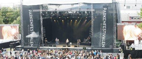 Viktig. Parkenfestivalen er et av de største kulturarrangementene gjennom året i Nordland ? og et av de viktigste for Avisa Nordland.