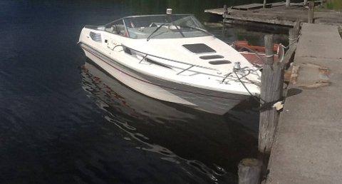 En familie fra Sandvika kjente igjen den stjålne båten sin på dette bildet, som TA publiserte i går.