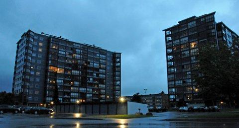 Voldsepisoden skal ha funnet sted i en av blokkene i Gamlegrensa i Skien.