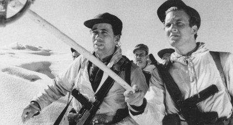 Bildet er fra filmen om sabotørene.