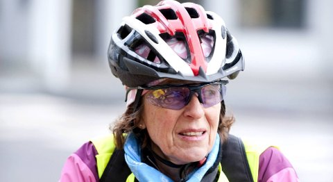 Leder Åse Simonsen i Syklistenes landsforening er fornøyd med at det rettes fokus på syklistene.