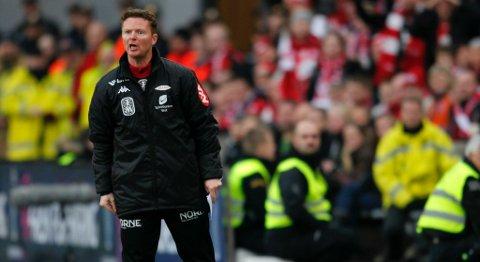 Brann-trener Rune Skarsfjord var skuffet etter nedturen i cupfinalen