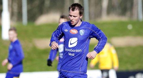 Arve Walde scoret historiens første FK Fyllingsdalen-mål.