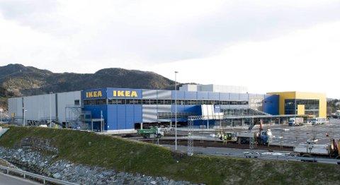 Nye Ikea i Åsane åpnet i forrige uke. (arkivfoto)