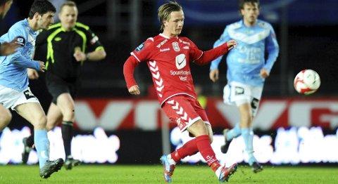 Fredrik Haugen vil score årets første mål i kveld. (Arkivfoto)