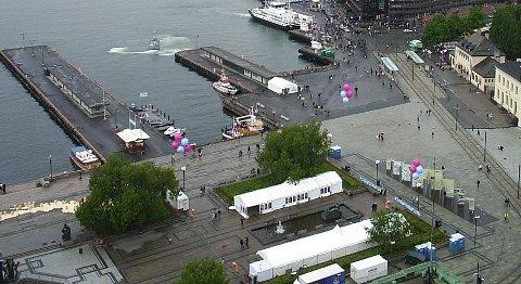 Stensund ble sist sett da han forliot en fest i nærheten av Rådhusplassen i Oslo.