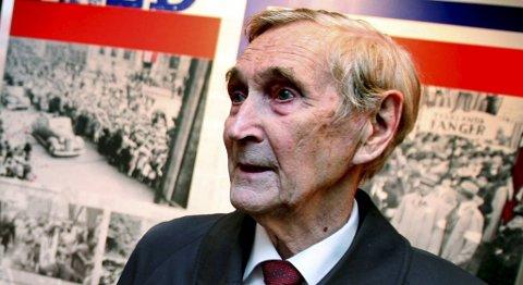 Gunnar Sønsteby døde torsdag, 94 år gammel. (Arkivfoto)