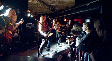 I november i fjor var blant andre Enslaved med på feiringen av Garages 20 årsjubileum.