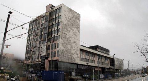 Den nye høgskolen på Kronstad.
