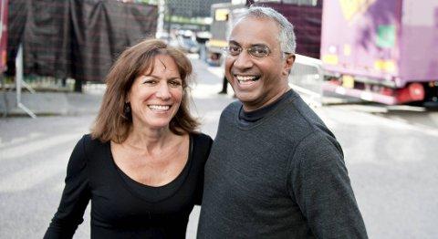 Sherri Cizin og Shlomo Avrham gledet seg til å se Bruce Springsteen på scenen tirsdag.