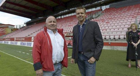 Jan Berg og Jostein Hatlebrekke i Auto 23 var med å bidra for å få Erik Huseklepp hjem til Bergen.
