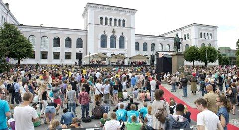 Åpningen av Universitetet i Bergens høstsemester i år.