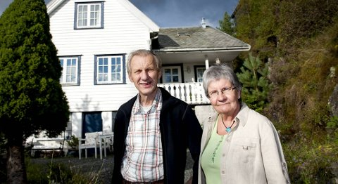 Anne Sofie Eknes og mannen Erik Eknes (arkivfoto).