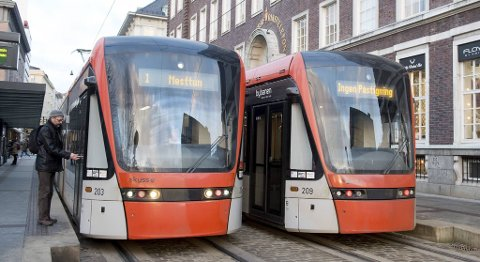 Stadig flere reiser kollektivt, og bybanen kan vise til den største økningen.