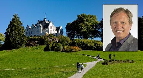 Arkitekt Jens Zetlitz Monrad Kielland fikk priser for blant annet Gamlehaugen på slutten av 1800-tallet. Trond Tystad etterlyser slik ingeniørkunst i dag.