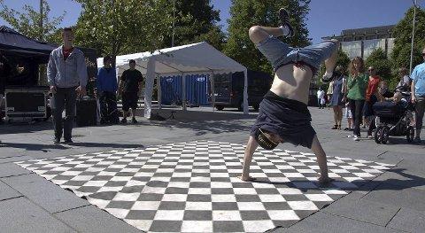 Leder battle: Stig Paa alias Stig Markussen er ikke bare Bboy, han setter i gang breakekonkurranse på Festplassen torsdag.