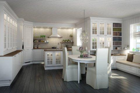 Oppland arbeiderblad   nå vil vi ha mer farger på kjøkkenet