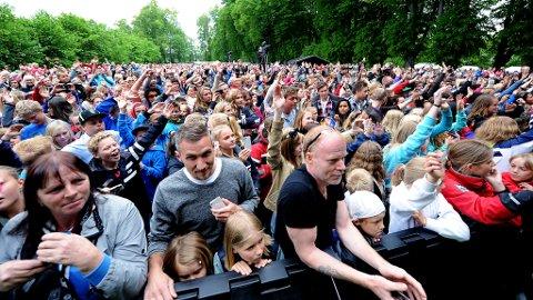 Flere tusen så Vinni opptre i Hafslundsparken