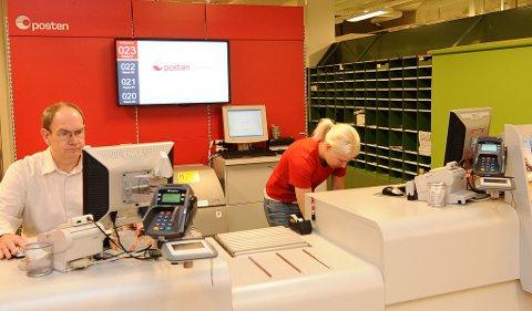 Postkontoret på Kongens plass i Kristiansund legges ned i løpet av de neste par årene.