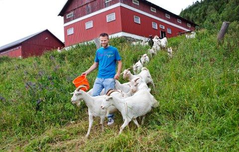 FANT KJÆRLIGHETEN :Bonde André Olsen fra Follebu har gjort sitt valg.