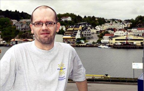 Håvar Krane er Demokratenes førstekandidat ved kommunevalget i Kristiansund i 2011. I vår var han leder for Norwegian Defence League, en gruppe som kobles til terrorsiktede Anders Behring Breivik.