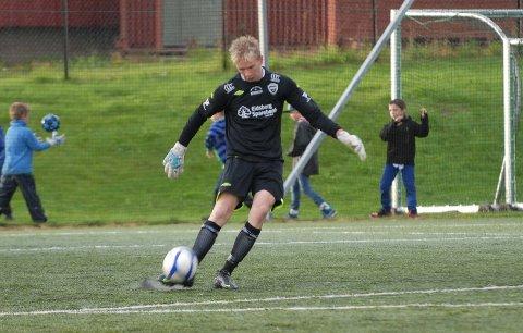 Den unge Mysen-keeperen Martin Løken klarte seg bra også denne gangen.