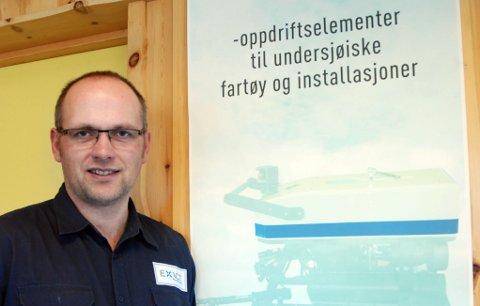 vekstbedrift: Asgeir Fjell er grunnlegger og daglig leder av Exact Productions AS på Sjøåsen, som er en av de nominerte i klassen Vekstprisen under konferansen.