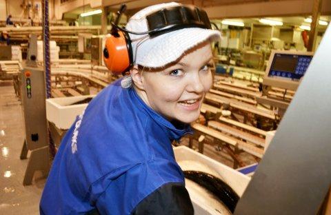 Lone Anita Johnsen er glad for å være på jobb hos Nordlaks igjen.