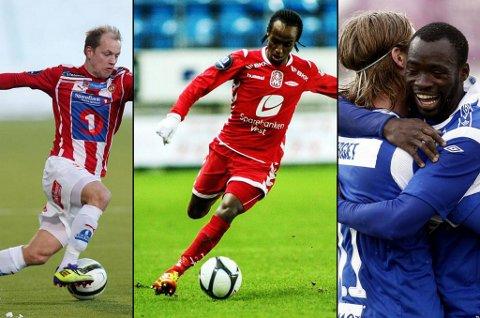 Hans Julius Norbye, Amin Askar og Davy Claude Angan er blant kandidatene til rundens mål fra tredje serierunde.